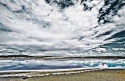 肯尼亚湖magadi 库存图片