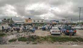 肯尼亚的停车处 库存照片