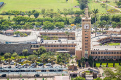 肯尼亚议会大厦在内罗毕的市中心 库存图片