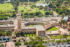肯尼亚议会大厦,内罗毕 免版税库存图片
