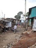 肯尼亚kibera 免版税库存图片