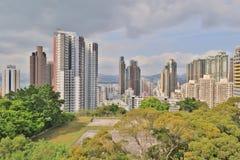 肯尼迪镇香港城市视图  库存照片