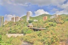 肯尼迪镇香港城市视图  图库摄影