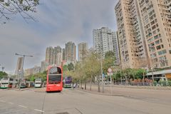 肯尼迪镇香港城市视图  免版税库存照片