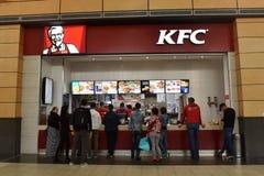 肯德基快餐餐馆 肯德基家乡鸡肯德基是与差不多20,000地点的世界` s第二大联锁饭店 免版税库存照片