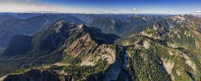肯德尔峰顶全景 库存图片