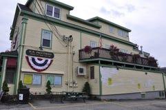 肯纳邦克波特,缅因, 6月30日:从肯纳邦克波特的街市历史的议院缅因国家的美国 免版税图库摄影