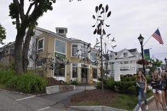肯纳邦克波特,缅因, 6月30日:缅因从肯纳邦克波特的美术画廊大厦缅因国家的美国 免版税图库摄影