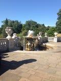肯辛顿庭院喷泉 库存照片