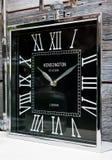 肯辛顿驻地时钟 免版税库存照片