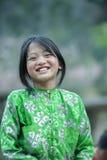 肺凸轮村庄的少数族裔孩子 免版税库存图片