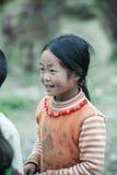 肺凸轮村庄的少数族裔婴孩 免版税图库摄影