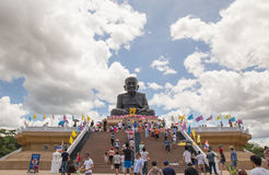 肺Poh脚趾Wat Huay Mong Kol泰国, 2015年6月01日 免版税库存照片