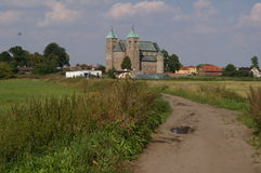 胃的-波兰牧师会主持的教堂 免版税库存照片