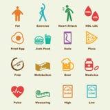 胆固醇元素 库存例证