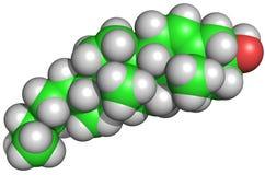 胆固醇结构 免版税库存照片