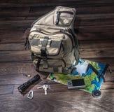 背包-移居概念 库存图片