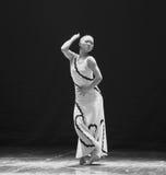背叛差事口味到迷宫现代舞蹈舞蹈动作设计者玛莎・葛兰姆里 库存照片