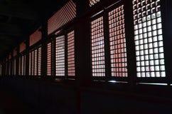 背后照明视窗 免版税图库摄影