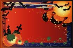 背景万圣节 免版税库存照片
