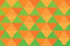 背景三角映象点横幅橙色抽象样式绿灯 皇族释放例证