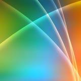 背景上色彩虹 库存照片