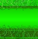背景上色日绿色帕特里克s st 库存图片