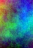 背景上色水 向量例证
