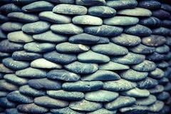 背景上色grunge石墙 免版税库存照片