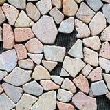 背景上色grunge石墙 图库摄影