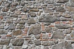 背景上色grunge石墙 免版税图库摄影