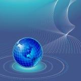 背景世界 免版税库存图片