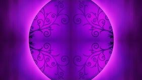 背景中国紫色 免版税库存照片