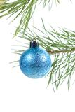 背景中看不中用的物品圣诞树 库存图片