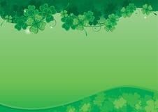 背景为圣Patricks日 免版税库存照片