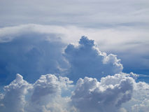 背景云彩天空 图库摄影