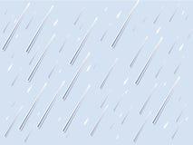 背景云彩雨向量 免版税库存照片