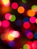 背景五颜六色的光 库存照片
