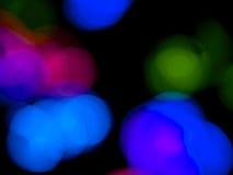 背景五颜六色的光 库存图片