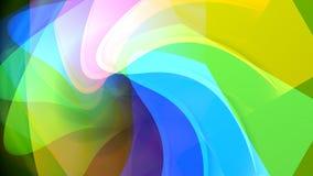 背景五颜六色的分数维 向量例证