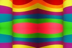 背景五颜六色的墙纸 免版税库存图片