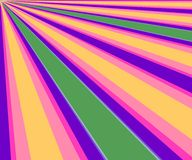 背景五颜六色的对角光芒 库存照片