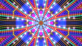 背景五颜六色的星形 库存图片