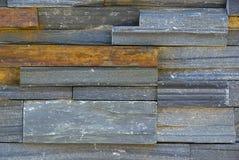 背景五颜六色的板岩 库存照片