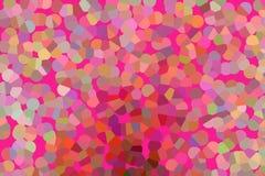 背景五颜六色的水晶 免版税库存图片