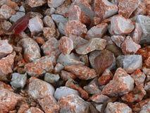背景五颜六色的石渣 库存照片