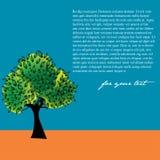 背景五颜六色的结构树 免版税库存照片