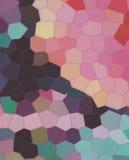 背景五颜六色的马赛克 库存图片
