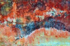 背景五颜六色的grunge纹理墙壁 免版税库存照片