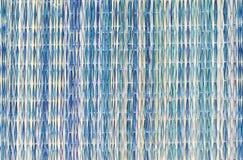 背景五颜六色的placemat秸杆纹理 免版税库存图片